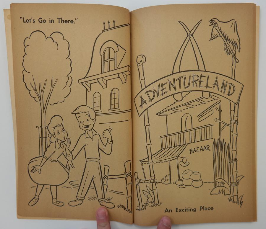 1956 Disneyland Coloring Book
