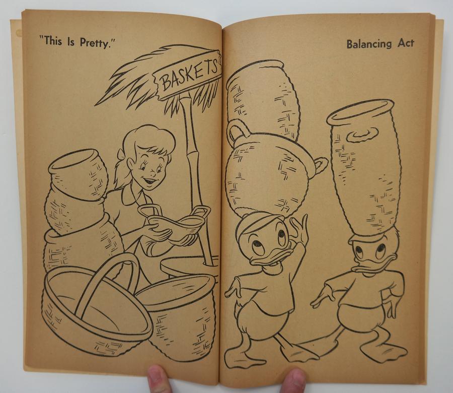 1956 Disneyland Coloring Book - ID: aprdisneyland17355   Van Eaton ...