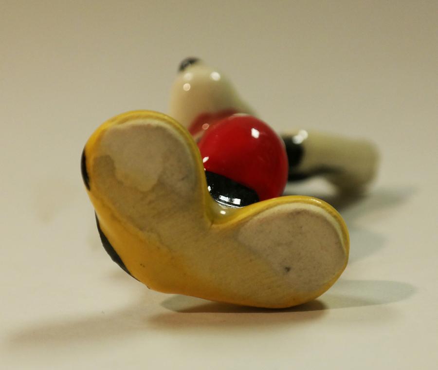 1956 Mickey Mouse Figurine Id Aprmickey17094 Van