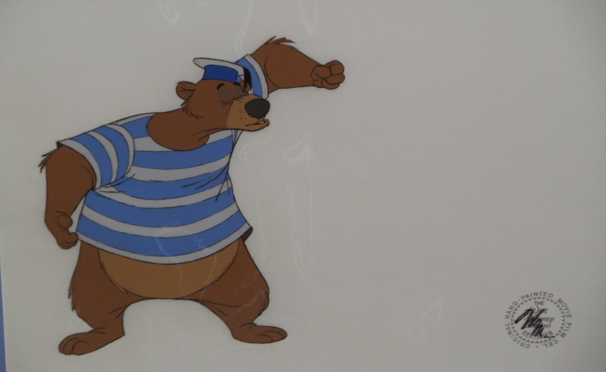 Bedknobs And Broomsticks Production Cel Id Fdbed01 Van