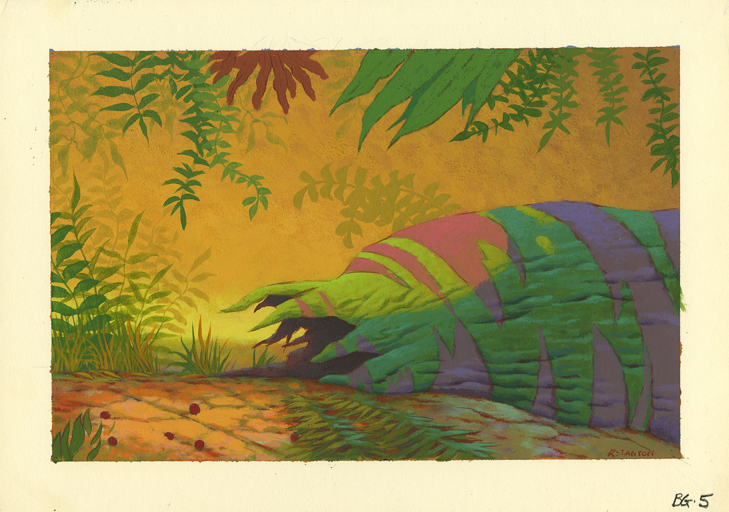 - The Lion King Background Color Key Concept - ID: Aprlionking5236