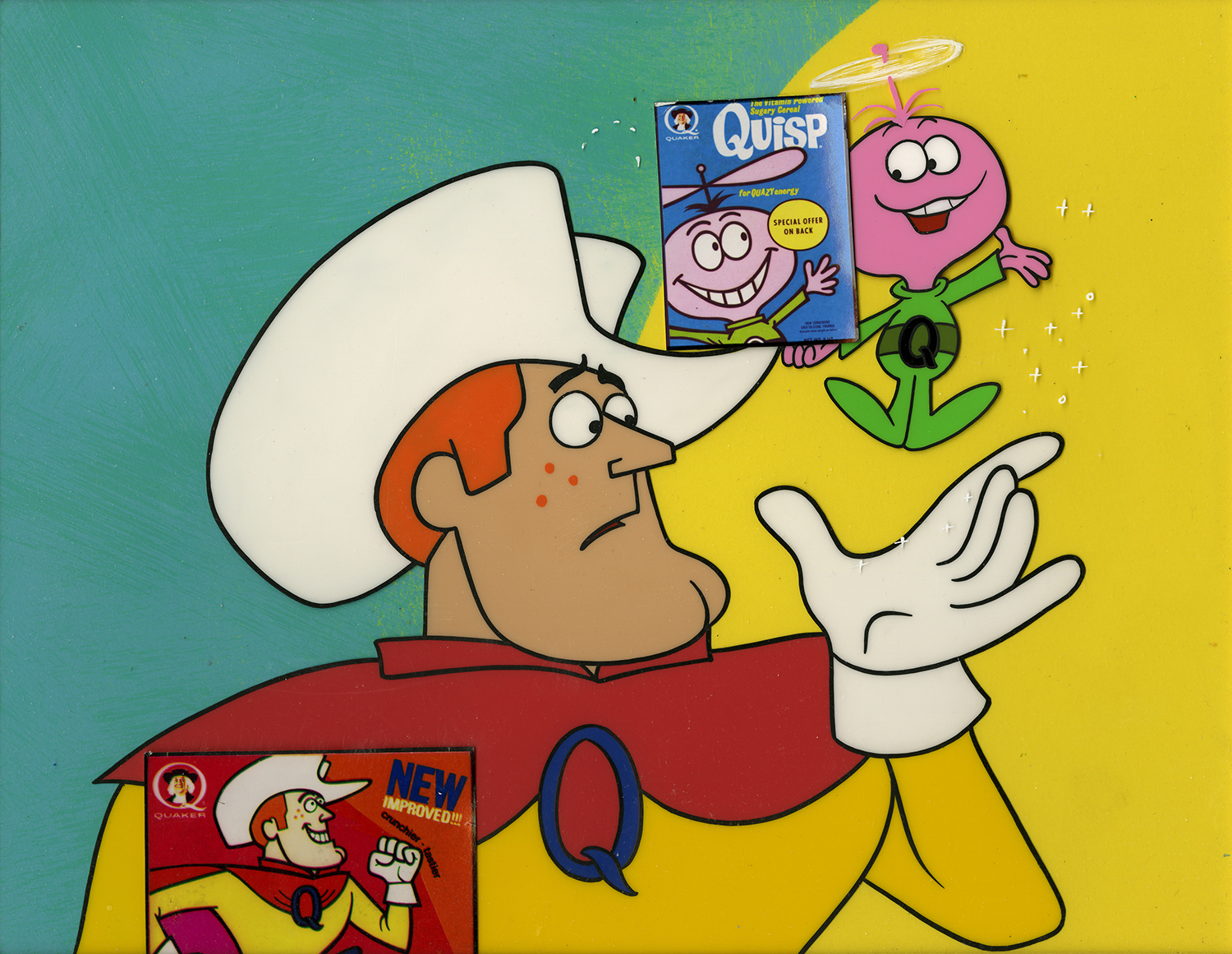 quisp and quake cereal production cel production background id