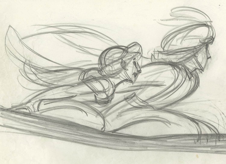 Aladdin Drawing Art