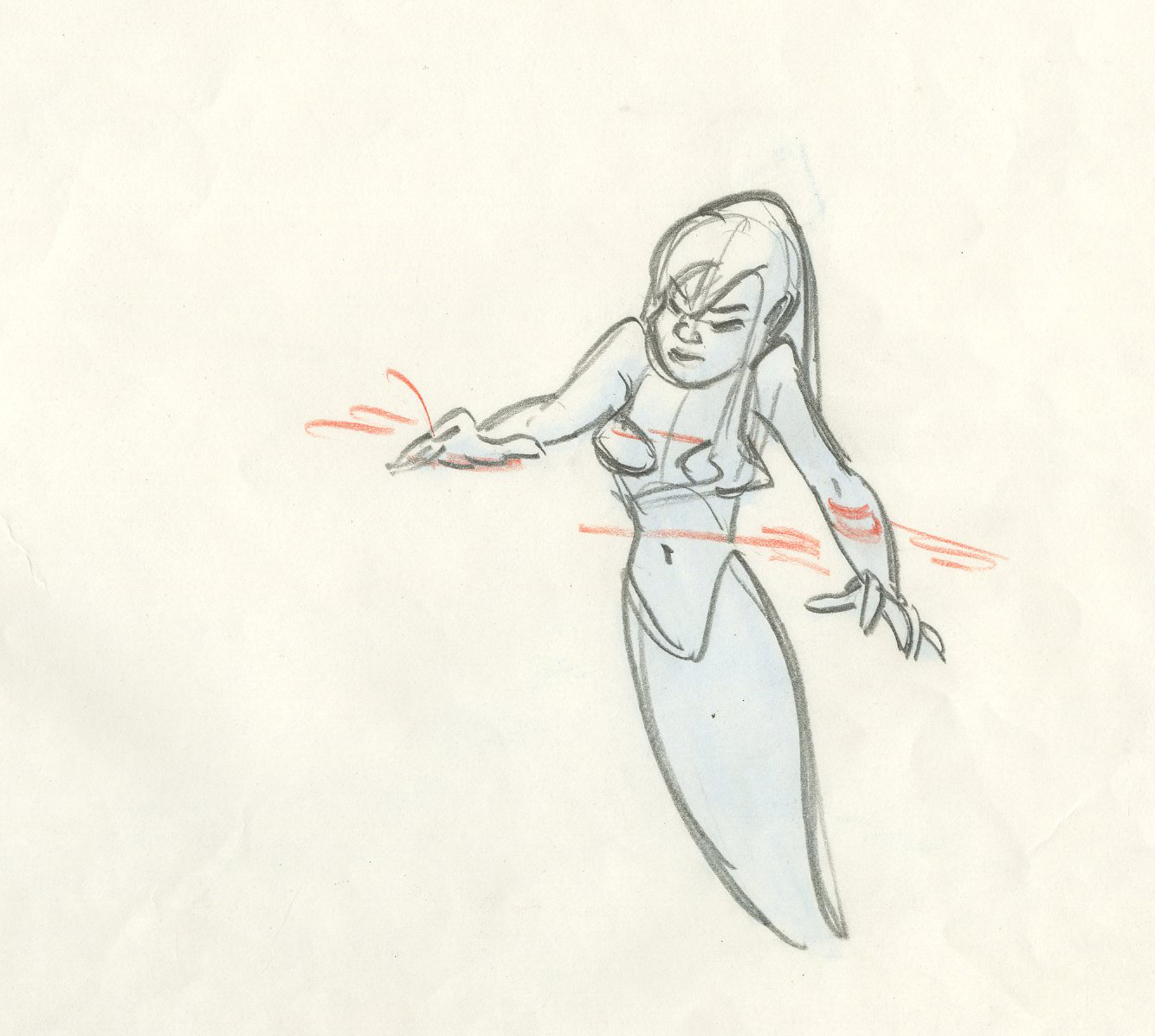 The Little Mermaid Production Drawing Id Decmermaid6746 Van