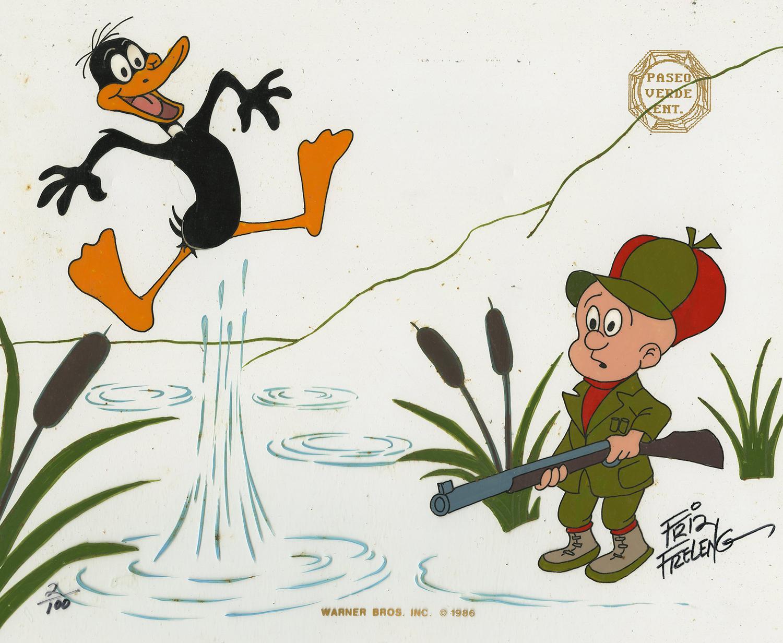 daffy duck and elmer fudd limited edition id decwarnerbros6737