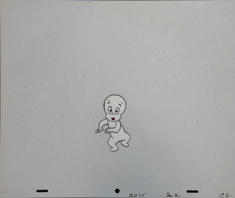 Casper the Friendly Ghost Production Cel - ID: juncasper9101 | Van