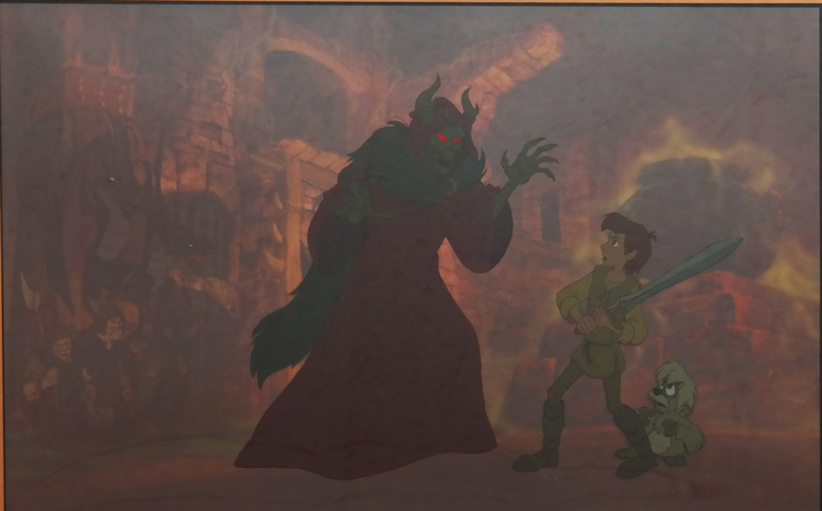 The Black Cauldron Promotional Cel Id Aprcauldron17534