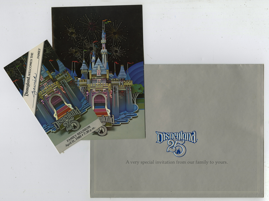 Disneyland 25th anniversary cast party invitations id disneyland 25th anniversary cast party invitations id novdisneyland17080 stopboris Images