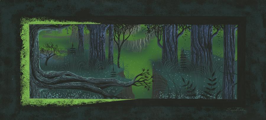 Forest Castle Concept Art