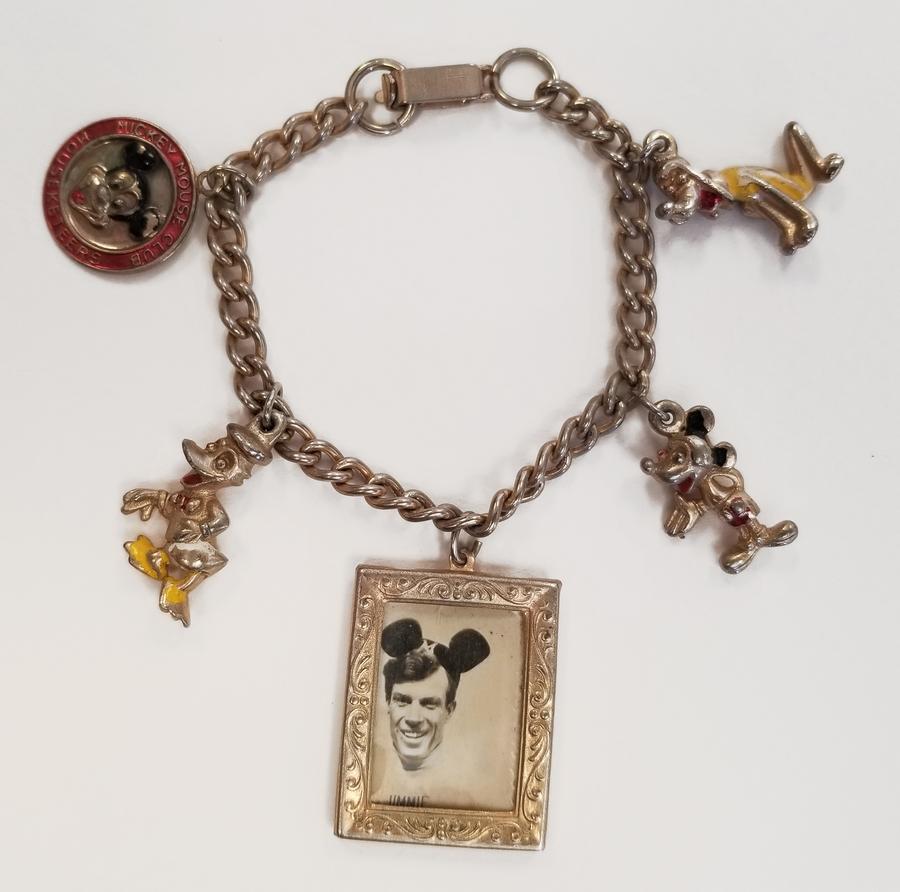 Mickey Mouse Charm Bracelet: Mickey Mouse Club Charm Bracelet
