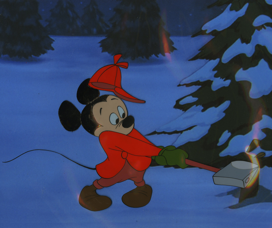 Plutos Christmas Tree.Pluto S Christmas Tree Production Cel Id Marmickey18014