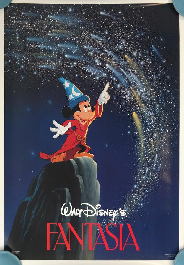 Fantasia Half Sheet Movie Poster Id Augfantasia19203 Van Eaton Galleries