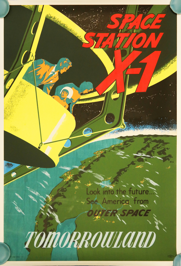 Space Station X 1 Disneyland Attraction Poster Id Mardisneyland19252 Van Eaton Galleries