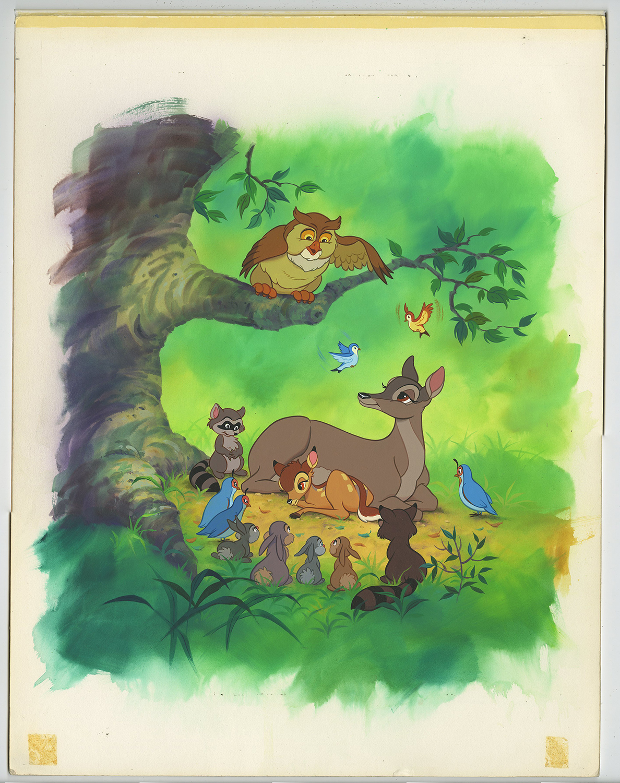 Becher Folie Bambi Disneyland Paris