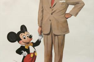 Partners Charles Boyer Signed Limited Print - ID: mayboyer19200 Disneyana
