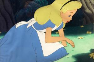 Alice in Wonderland Production Cel - ID: novalice20013 Walt Disney