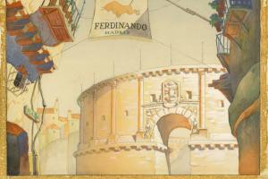 Ferdinand the Bull Production Backgroudn - ID: decferdinand20146 Walt Disney