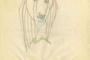 Fantasia Production Drawing - ID: sepfantasia21038 Walt Disney