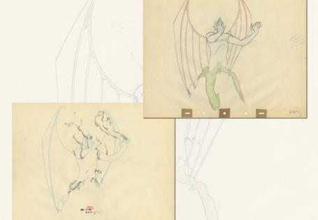 Fantasia Production Drawing  - ID: septfantasia20277 Walt Disney
