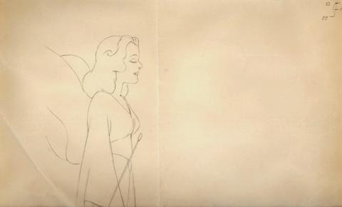 Pinocchio Production Drawing - ID:0102pin03 Walt Disney