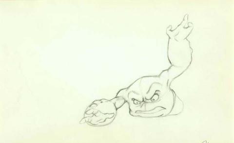 Treasure Planet Production Drawing - ID:0129treasures002 Walt Disney