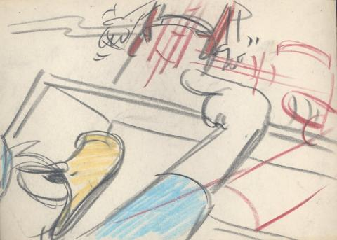 All in a Nutshell Storyboard Drawing - ID:430don08 Walt Disney