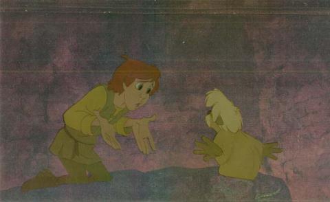 The Black Cauldron Production Cel - ID:black28 Walt Disney