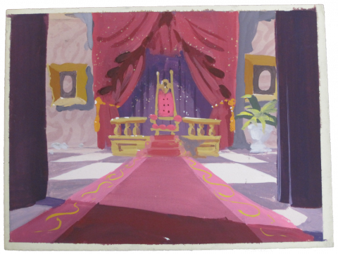 The Great Mouse Detective Color Key Concept - ID:coleman8543 Walt Disney