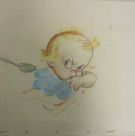 Baby Weems Storyboard Drawing - ID:dis17 Walt Disney