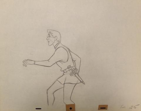 Sleeping Beauty Production Drawing - ID:disbeauty15 Walt Disney