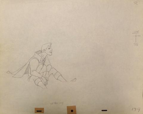 Sleeping Beauty Production Drawing - ID:disbeauty17 Walt Disney