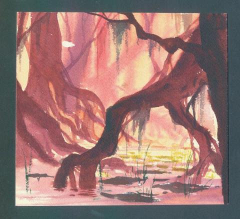 The Rescuers Concept Art - ID:disrescue01 Walt Disney