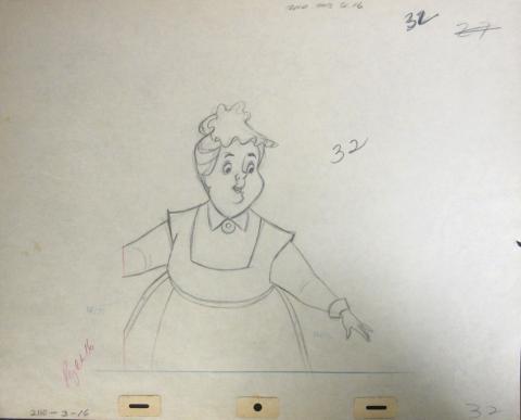 101 Dalmatians Production Drawing - ID:jandalmatians0798 Walt Disney