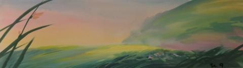 The Land Before Time Color Key Concept - ID:mar15land007 Don Bluth