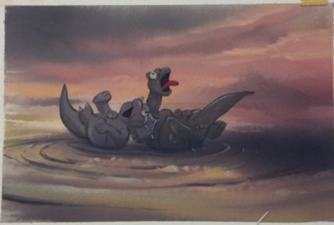 The Land Before Time Color Key Concept - ID:mar15land016 Don Bluth