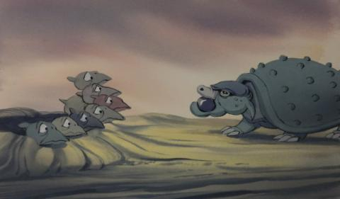 The Land Before Time Color Key Concept - ID:mar15land020 Don Bluth