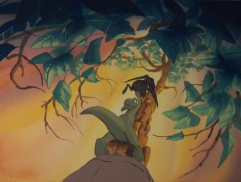 The Land Before Time Color Key Concept - ID:mar15land021 Don Bluth