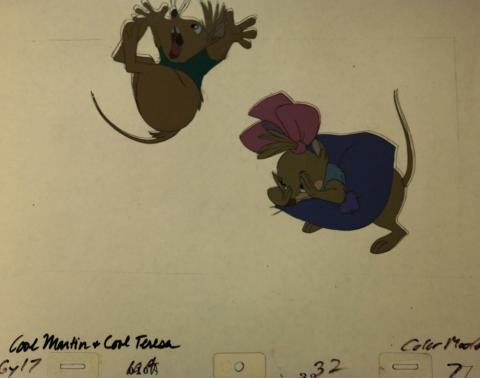The Secret of NIMH Production Cel - ID:mar15nimh056 Don Bluth