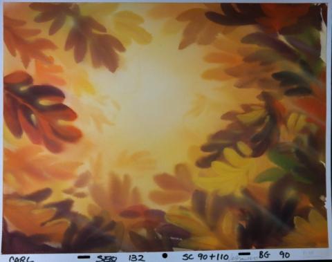 Thumbelina Production Background - ID:mar15thumb008 Don Bluth