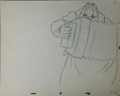 Lady and the Tramp Production Drawing - ID:marladytramp2655 Walt Disney