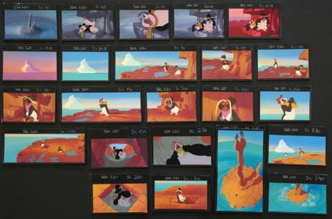 The Pebble and the Penguin Background Color Key Concept Painting - ID:marpebble3683 Don Bluth