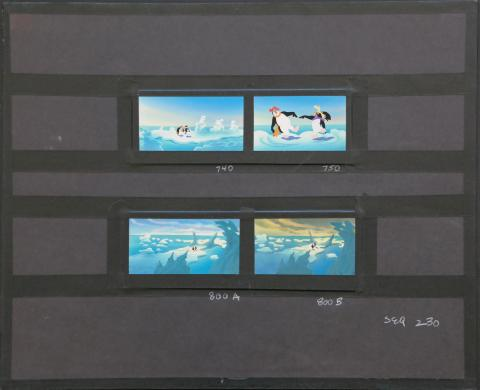The Pebble and the Penguin Background Color Key Concept Painting - ID:marpebble3697 Don Bluth