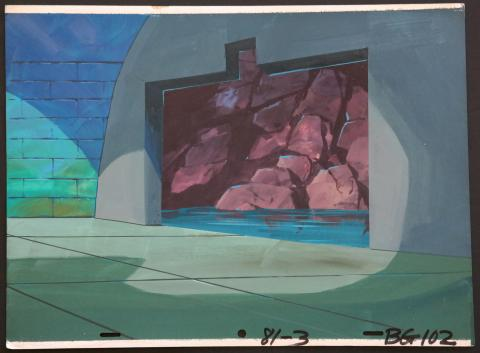 The Scooby Doo Show Production Background - ID:marscooby3620 Hanna Barbera