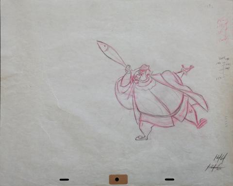 Sleeping Beauty Production Drawing - ID:marsleeping3624 Walt Disney