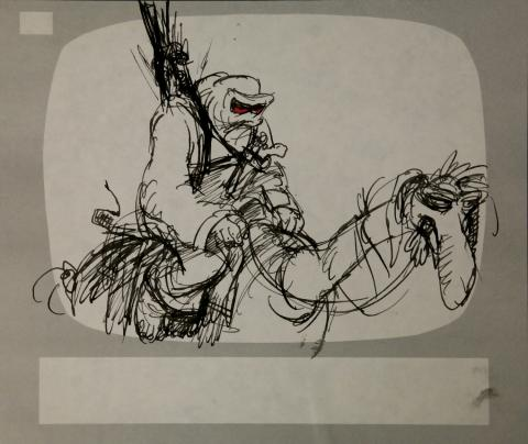 Wizards Storyboard Panel - ID:marwizards2868 Ralph Bakshi
