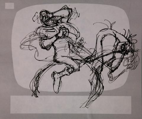 Wizards Storyboard Panel - ID:marwizards2869 Ralph Bakshi