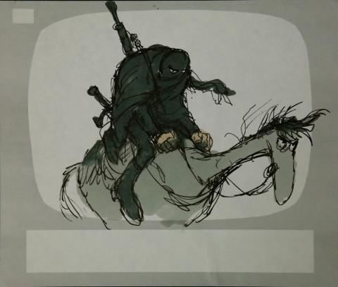Wizards Storyboard Panel - ID:marwizards2872 Ralph Bakshi