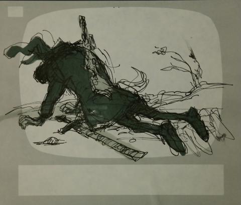 Wizards Storyboard Panel - ID:marwizards2873 Ralph Bakshi