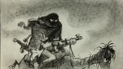 Wizards Storyboard Panel - ID:marwizards2876 Ralph Bakshi