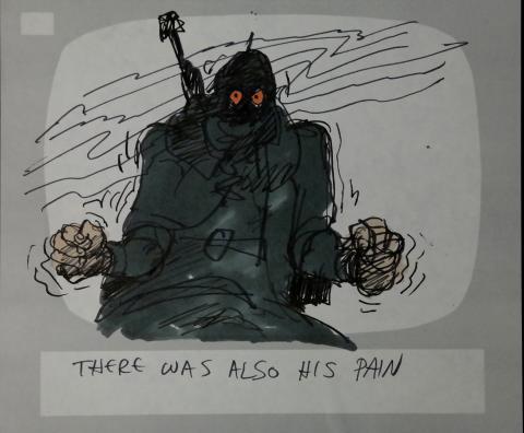 Wizards Storyboard Panel - ID:marwizards2877 Ralph Bakshi